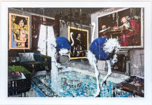 Angelo Accardi MISPLACED Serigrafia 120x80 cm 2018
